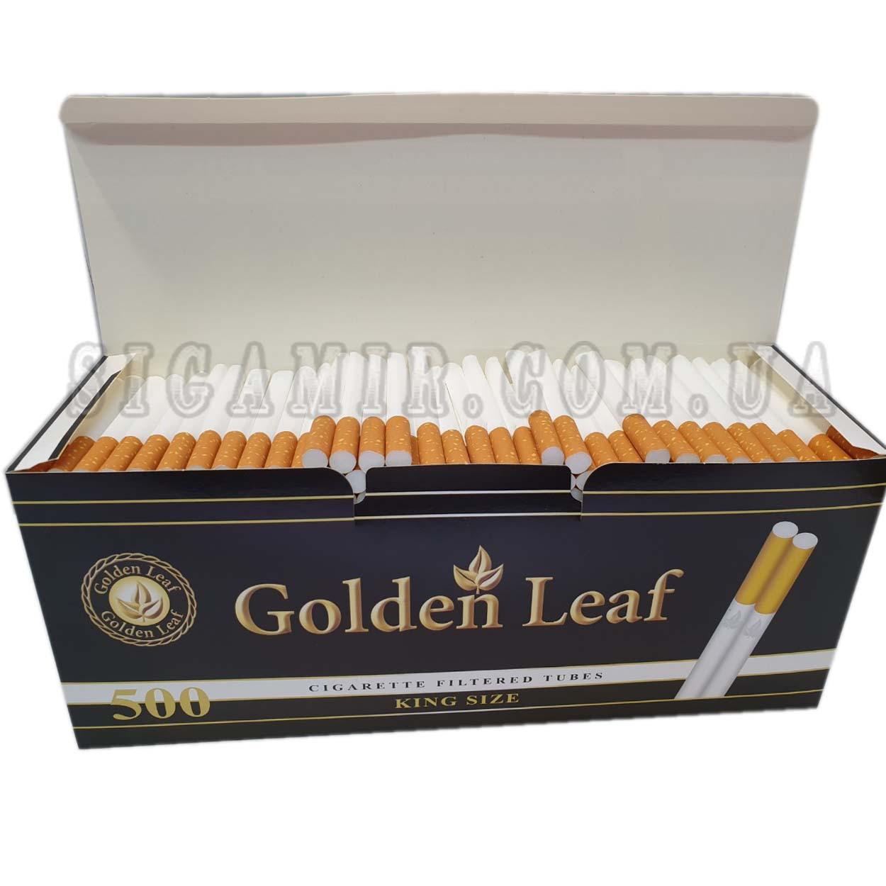 Гильзы для набивки сигарет Golden Leaf 500 шт