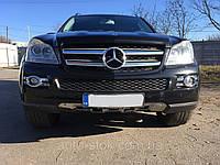 Бампер передний Mercedes GL, X164, 2008 г.в. A1648851925, A1648855425