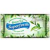 Влажные салфетки (Green tea) - Superfresh 15шт