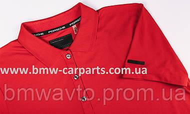 Жіноча сорочка-поло Porsche Polo-Shirt, Women, Red, фото 3