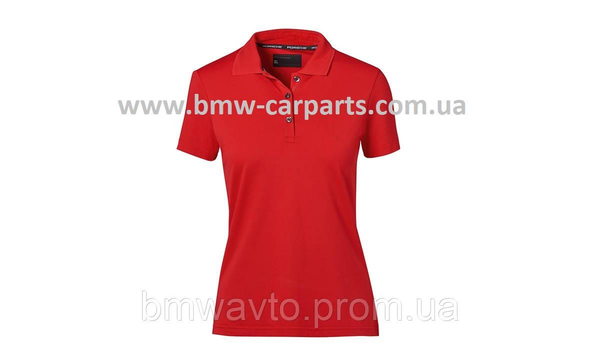 Жіноча сорочка-поло Porsche Polo-Shirt, Women, Red