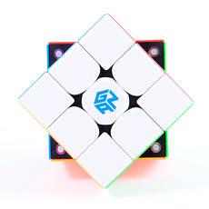 Gan 356 X stickerless | Кубик 3x3 Ган X магнитный 00030701001                                       , фото 3