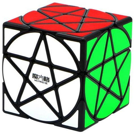 Головоломка пентаграмма QiYi Pentacle Cube black | MFG2011                                          , фото 2
