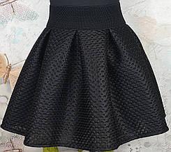 Юбка для девочки р. 128-146 чёрный