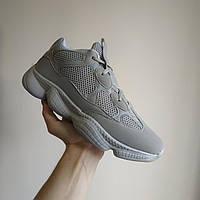Adidas Yeezy 500 серые |КОПИЯ| Мужские кроссовки адидас изи 500 \ размеры: 41 42