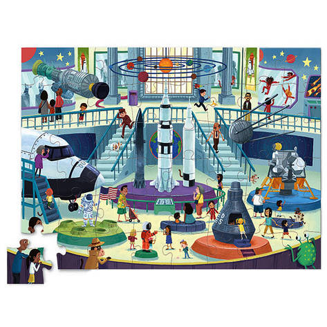 Day at the Museum Puzzle (48 деталей) Bertoy Музей космонавтики 384063-2, фото 2