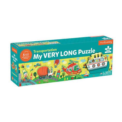 Long Puzzle (30 деталей) Bertoy Транспорт 355191, фото 2