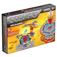 Geomag Mechanics 86 деталей | Магнитный конструктор Геомаг PF.530.721.00, фото 3