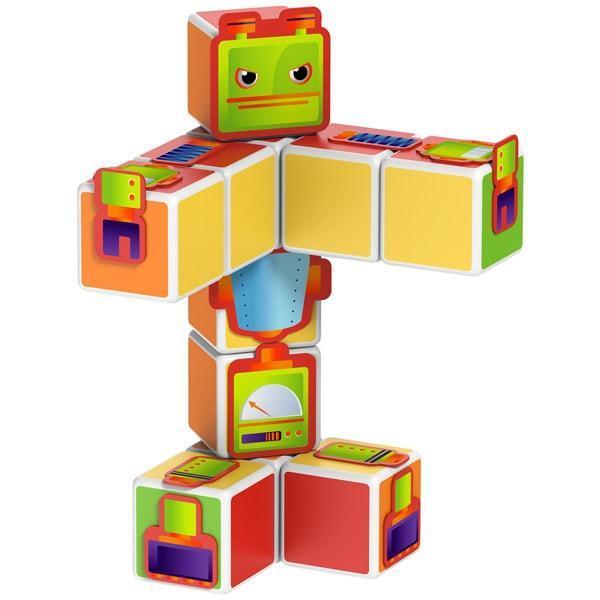Geomag MAGICUBE Robots   Магнитные кубики Роботы 142MC