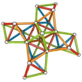 Geomag Confetti 127 деталей | Магнитный конструктор Геомаг PF.515.354.00, фото 2