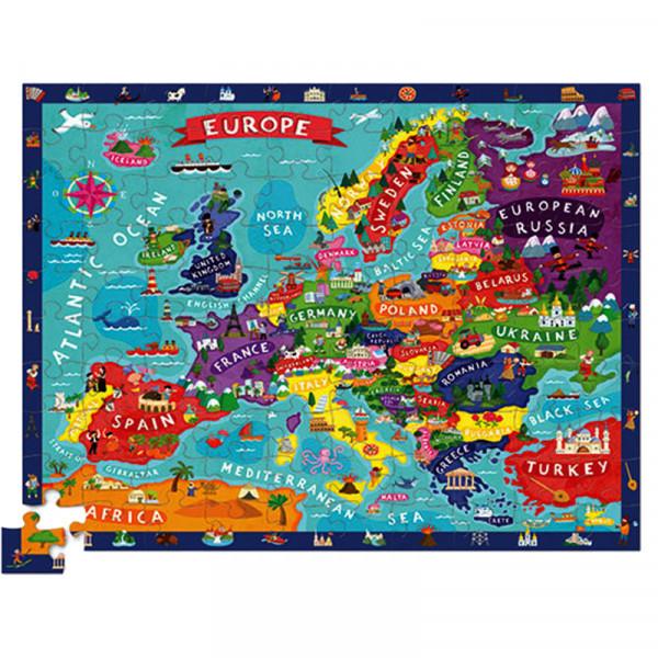 Discover Puzzle (100 элементов) Пазл-игра Bertoy Европа 382920-3