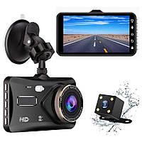 BT100 4 дюймов HD Дисплей Сенсорный экран Авто Видеорегистратор