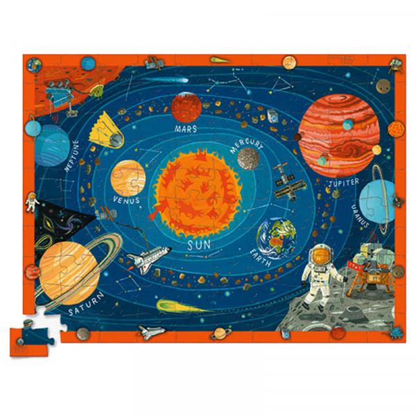 Discover Puzzle (100 элементов) Пазл-игра Bertoy Космос 382920-7
