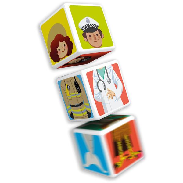 Geomag MAGICUBE Mix & Matсh 6 cubes | Магнитные кубики Микс 6 кубов 123MC