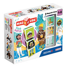 Geomag MAGICUBE Mix & Matсh 6 cubes | Магнитные кубики Микс 6 кубов 123MC                           , фото 3
