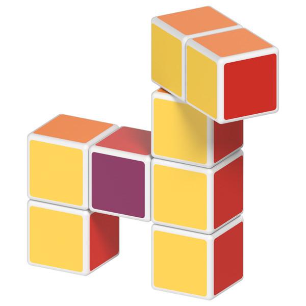 Geomag MAGICUBE free building 8 кубиков | Магнитные кубики 127MC