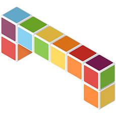 Geomag MAGICUBE free building 8 кубиков | Магнитные кубики 127MC                                    , фото 2