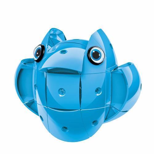 Geomag KOR Pantone Blue | Магнитный конструктор Геомаг Кор голубой PF.800.673.00