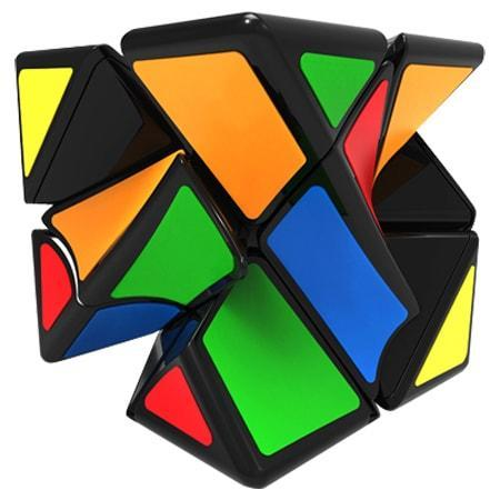 Скьюб Твисти QiYi Twisty Skewb Cube black | MFG2004