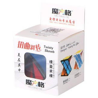 Скьюб Твисти QiYi Twisty Skewb Cube black | MFG2004                                                 , фото 2