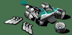 Geomag WHEELS Nitro 25 деталей | Магнитный конструктор Геомаг PF.590.711.00, фото 3