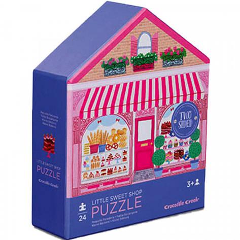 2-Sided Puzzle (24 детали) Bertoy Кондитерская 384150-1                                             , фото 2