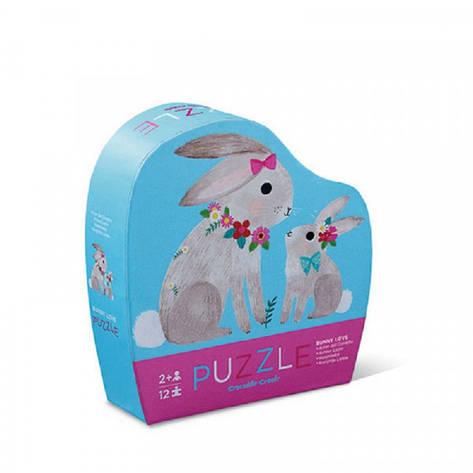 Mini Puzzle (12 элементов) Bertoy Зайкина любовь 384115-1, фото 2