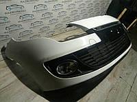 Бампер передний (рестайлинг) Renault Megane III (2012)