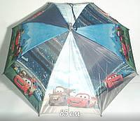"""Детский зонт трость """"Тачки"""", купол 85 см"""
