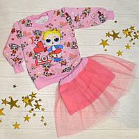 Костюм для дівчинки LOL р. 110 / Стильный костюм для девочки