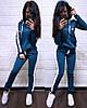 Женский спортивный костюм в расцветках, р-р 48-50. ТУ-39-1-0319, фото 3