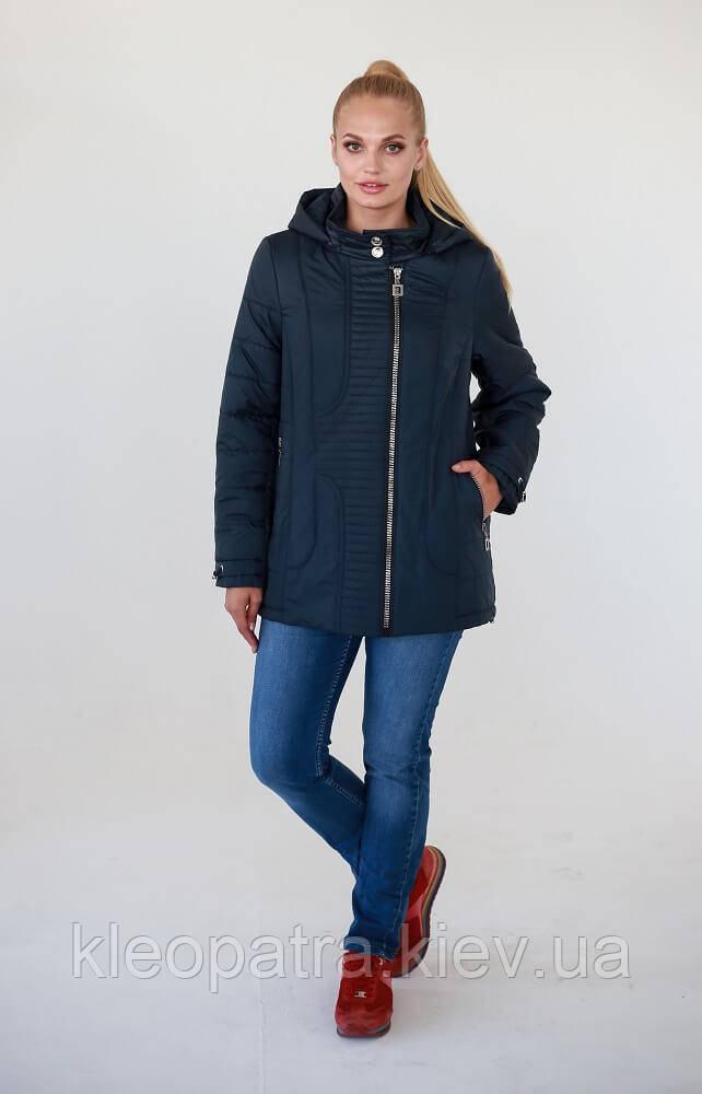 Демисезонная куртка женская Мираж батал