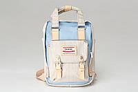 Рюкзак для мамы Heine gray-blue