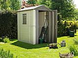 Садовий будиночок/сарай 6 x 4 KETER Factor  , фото 2