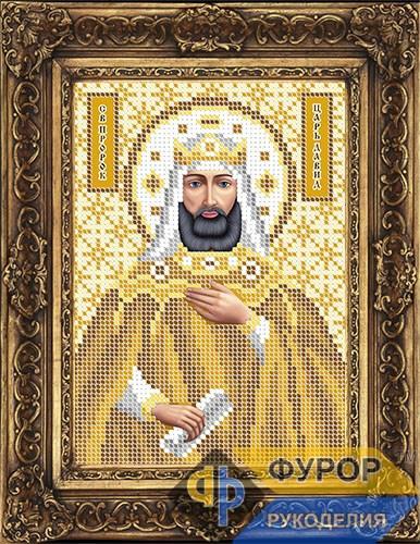 Схема для вишивки бісером ікони Давид Святий Пророк (ИБ5-104-2)