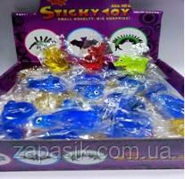 Лизун Силиконовый Животные Sticky Toy 70 шт В Упаковке
