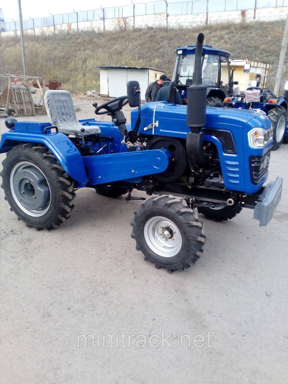 Трактор, DW 240 B, (24 лс, 4х2, 3цил., 1-е сц., блок. диф.)