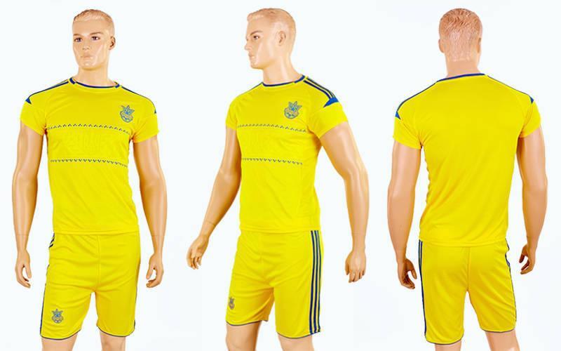 Форма футбольна дитяча Україна жовта