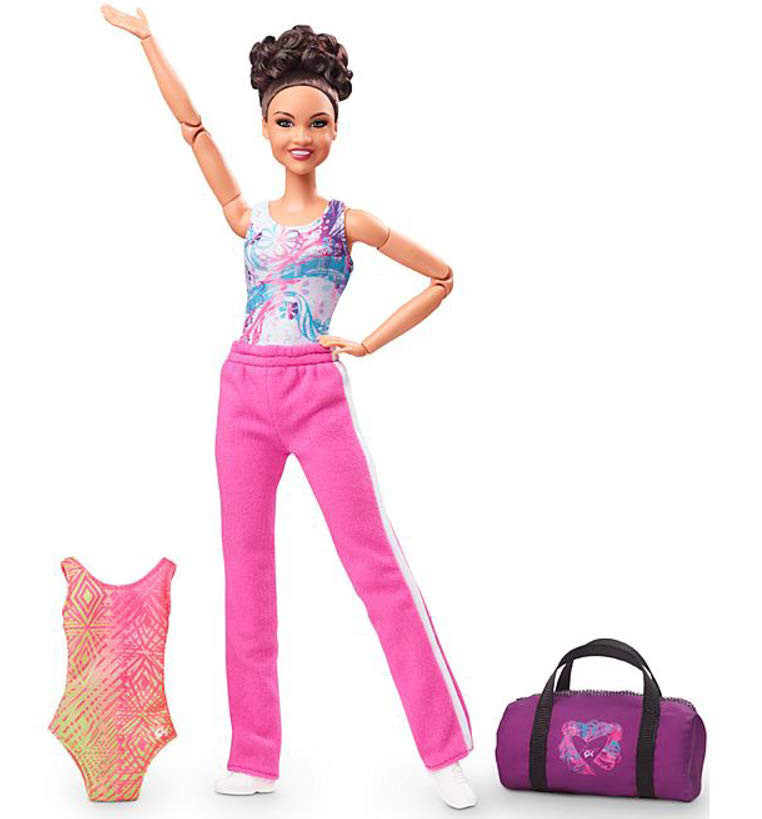Кукла Барби Безграничные движения Лаура Фернандес Гимнастка Шарнирная Barbie Made to Move