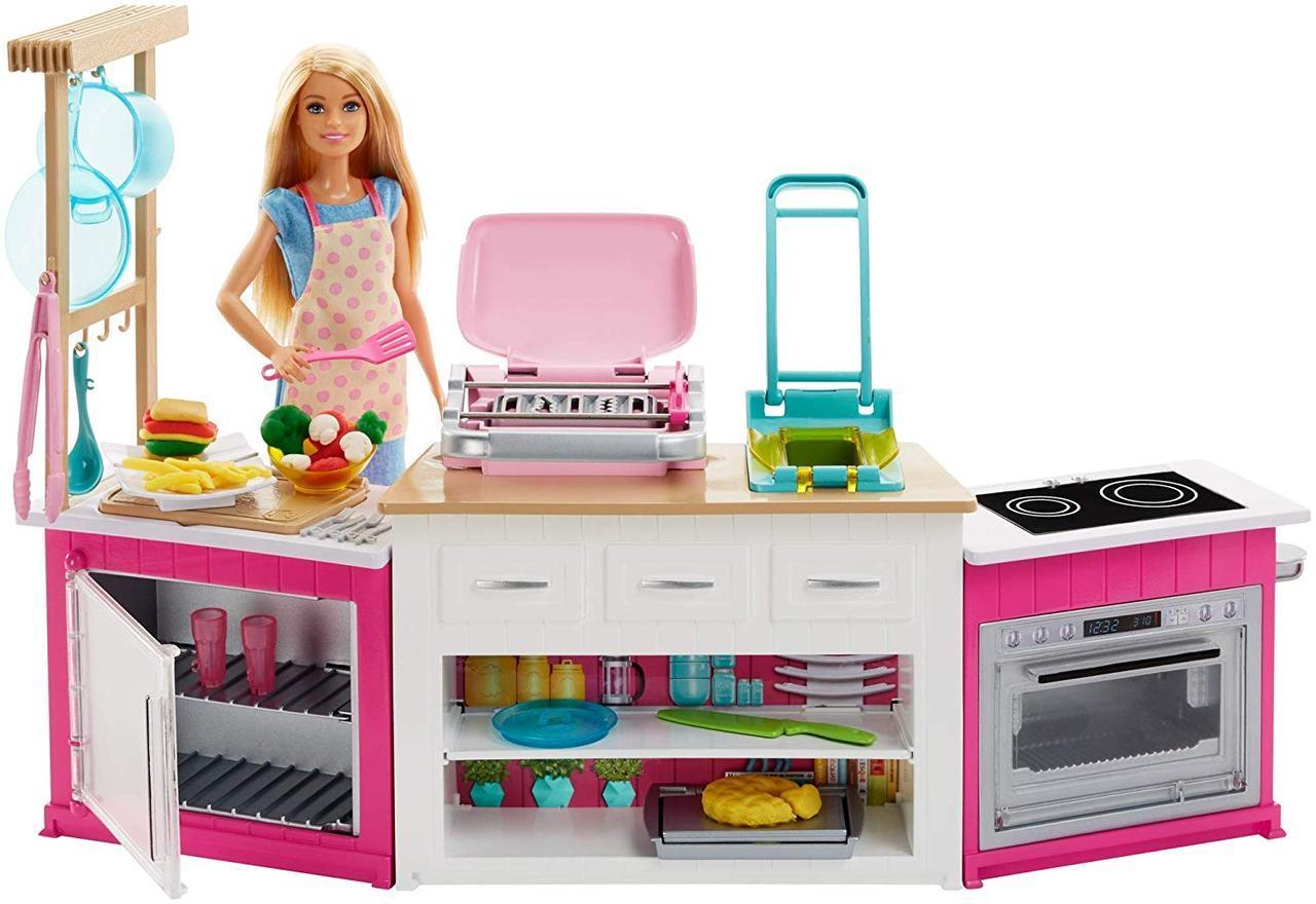 Большой набор Кукла Барби на кухне Готовим вместе Barbie Ultimate Kitchen