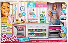 Большой набор Кукла Барби на кухне Готовим вместе Barbie Ultimate Kitchen, фото 8