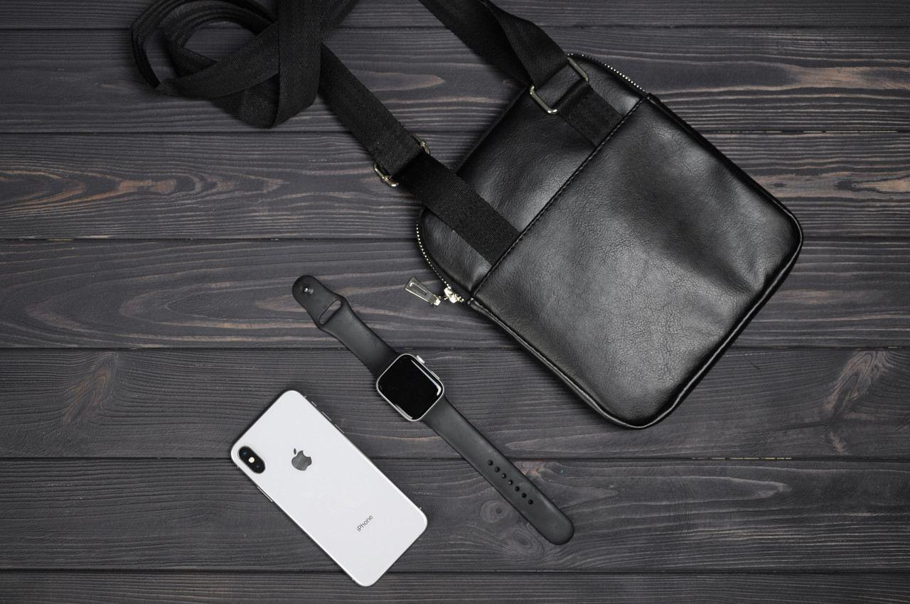 346ca5181bd7 Черная, фото 2 Стильная сумка через плечо, барсетка Calvin Klein, CK  кельвин.