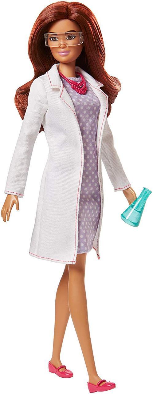 Барби из серии Я могу быть ученой сотрудник научной лаборатории Barbie Careers Scientist