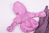 Куртка демисезонная и штаны для девочек от 6 мес до 1,5 лет Кроха  лиловый, фото 5