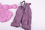 Куртка демисезонная и штаны для девочек от 6 мес до 1,5 лет Кроха  лиловый, фото 6