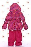 Детская демисезонная куртка и полукомбинезон для девочки, фото 10