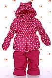 Демисезонный  костюм (куртка и штаны) для девочек, фото 9