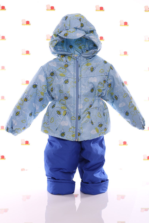 Демисезонная куртка и  штаны на лямках для мальчика