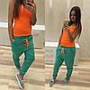 Стильные спортивные штаны с мотней (разные цвета), фото 2