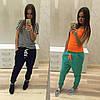 Стильные спортивные штаны с мотней (разные цвета), фото 5